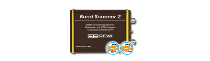 Band Scanner 2 - FM & MOD Analyzer, RDS Decoder, built-in GPS receiver for signal coverage survey