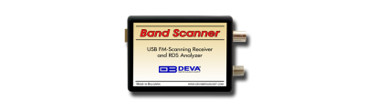 Band Scanner - USB FM-Scanning Receiver and RDS Analyzer